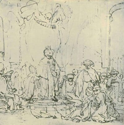 Rembrand Drawing,