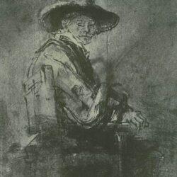 Rembrandt, tekening,