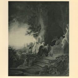 Rembrandt painting The risen Christ appearing to Mary Magdalene