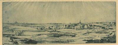 Rembrandt, Bartsch B. 234, Het landschap van de goudweger