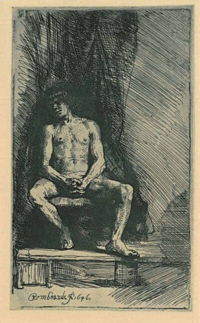 Rembrandt, ets, Bartsch B. 193,