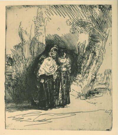 Het Spaanse heidinnetje, Rembrandt, Bartsch, B. 120