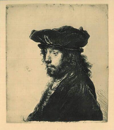 De vierde oosterse kop, Rembrandt, Bartsch, B. 289