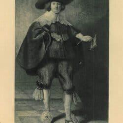 Leopold Flameng, naar Rembrandt, Marten Soolmans (1613-1641)