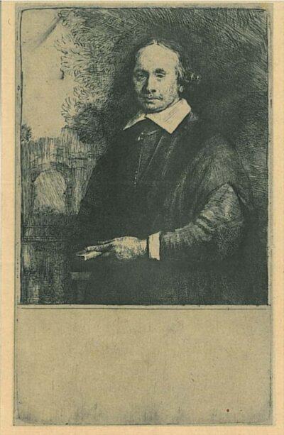 Jan Antonides van der Linden (1609-1664), Rembrandt, Bartsch, B. 264