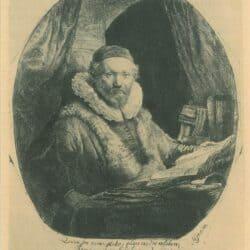 Rembrandt, Etching, Bartsch, B. 279,