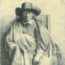 Rembrandt, etching, Bartsch B. 272,