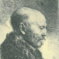 Rembrandt, etching, Bartsch B. 292,