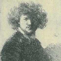 Rembrandt, etching, Bartsch B. 1,