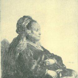 Rembrandt, etching, Bartsch B. 348,