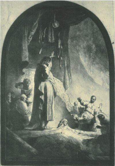 Rembrandt, etching, Bartsch B. 73,