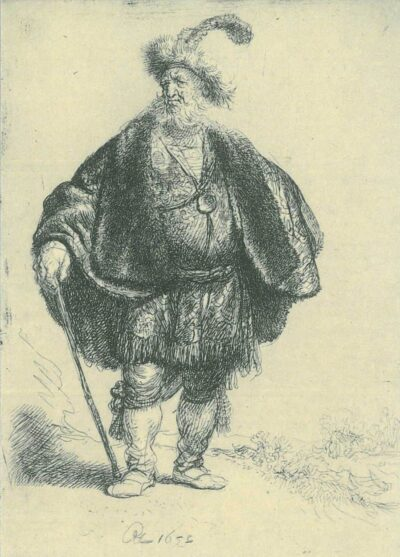 Rembrandt, etching, Bartsch B. 152,