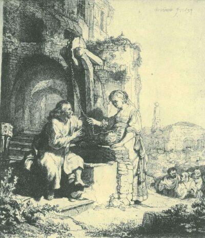 Rembrandt, etching, Bartsch B. 71,