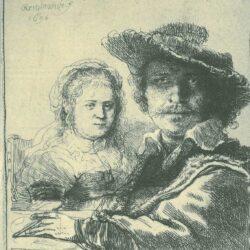 Rembrandt, etching, Bartsch B. 19,