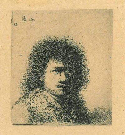 Rembrandt, etching, Bartsch B. 25,