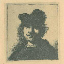 Rembrandt, etching, Bartsch B. 6,