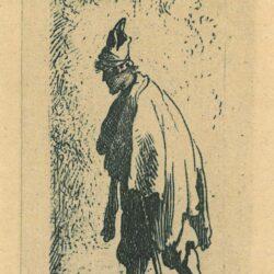 Rembrandt Etching, Bartch 167,