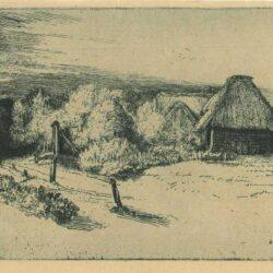 Rembrandt, etching, Bartsch B. 222, L