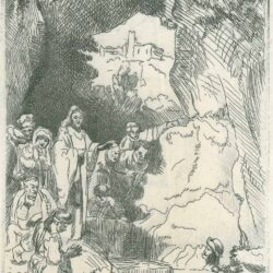 Rembrandt, Etching, Bartsch B. 72, New Hollstein 206,