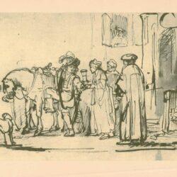 Rembrandt, tekening, hofstede de groot 217,