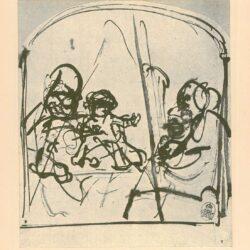 Rembrandt, zeichnung, hofstede de groot 268,