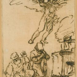 Rembrandt, tekening, Benesch 895,