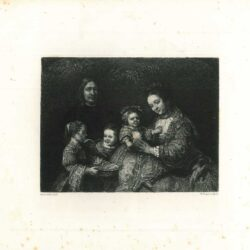 Rembrandt paiting Portrait of a family