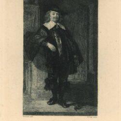 Rembrandt, schilderij, Portret van Andries de Graeff (1611-1678)