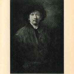 rembrandt painting, Large self portrait