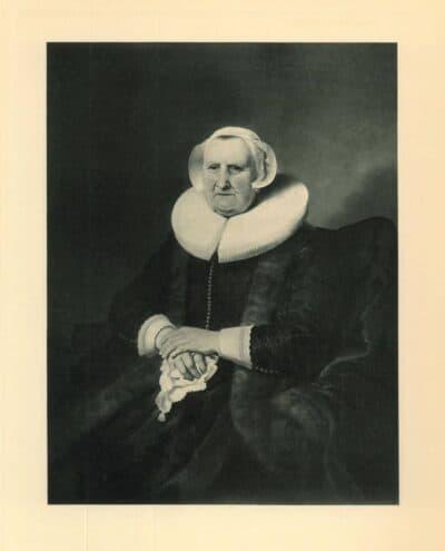 Rembrandt, schilderij, Portret van Elisabeth Jacobsdr. Bas, weduwe van admiraal Jochem Hendriksz. Swartenhont