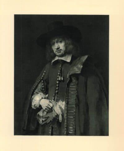 Rembrandt, schilderij, Portret van Jan Six (1618-1700)