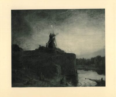 Rembrandt painting, The Mill