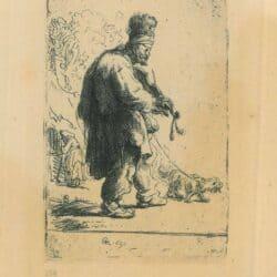 Rembrandt Etching, Bartsch B. 138,