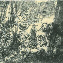 Rembrandt, etching, Bartsch B. 47,