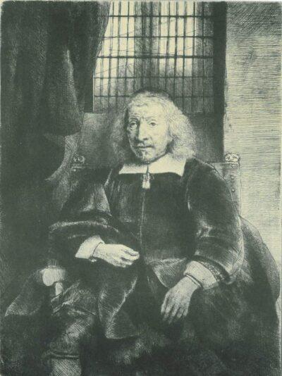 Rembrandt, etching, Bartsch B. 274,