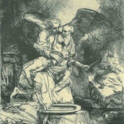 Rembrandt, etching, Bartsch B. 35,