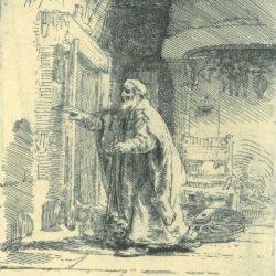 Rembrandt, etching, Bartsch B. 42,