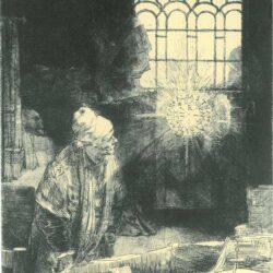 Rembrandt, etching, Bartsch B. 270,