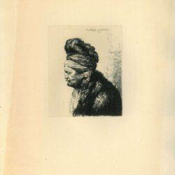 Rembrandt, Ets, Bartsch B. 287, De tweede oosterse kop