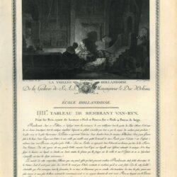 Rembrandt, schilderij, De heilige familie bij avond
