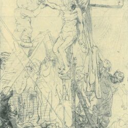 Rembrandt Etching, Bartch B. 82,
