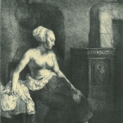 Rembrand Etching, Bartch B. 197,