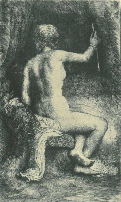 Rembrandt Etching, Bartch B. 202,