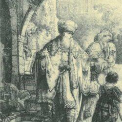 Rembrandt Etching, Bartch B. 30,