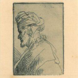 Rembrandt Etching, Bartch