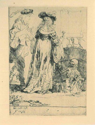 Rembrandt, Etching, Bartsch B. 109,