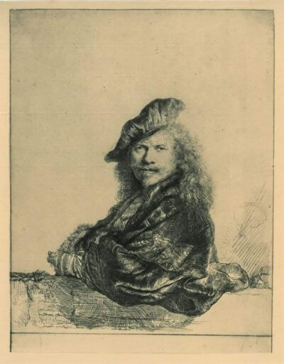 Rembrandt, Etching, Bartsch B. 21,