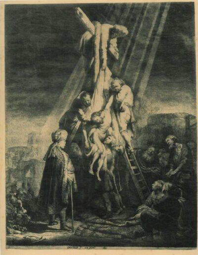 Rembrandt etching, Bartsch B. 81,