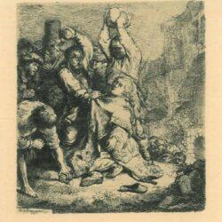 Rembrandt, Etching, Bartsch B. 97,