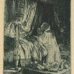 Rembrandt Etching, Bartsch B.